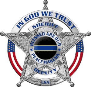 Police Badges and Sheriff Star Decals for Cruisers